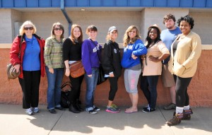 PR Campaigns Class Field Trip to Southland Park